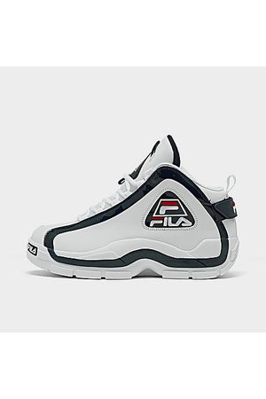 Fila Men Basketball - Men's Grant Hill 2 Basketball Shoes in Size 8.0 Leather