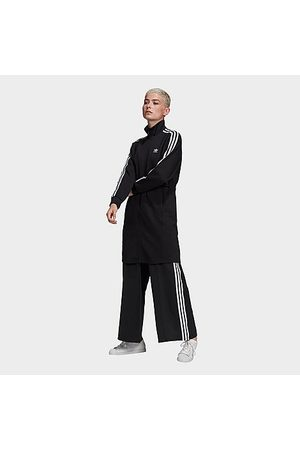 adidas Women Jackets - Women's Originals Long Track Jacket in Size X-Small