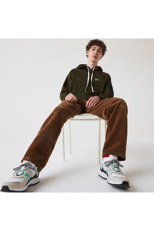 Lacoste Men Sweatshirts - Men's Contrast Pocket Fleece Sweatshirt :