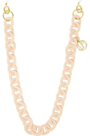 Linda Farrow Women Sunglasses - Gold-plated Charm Acetate Glasses Chain - Womens - Nude