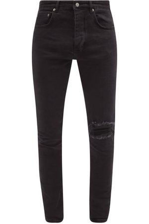 KSUBI Chitch Distressed Slim-leg Jeans - Mens