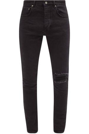 KSUBI Men Slim - Chitch Distressed Slim-leg Jeans - Mens