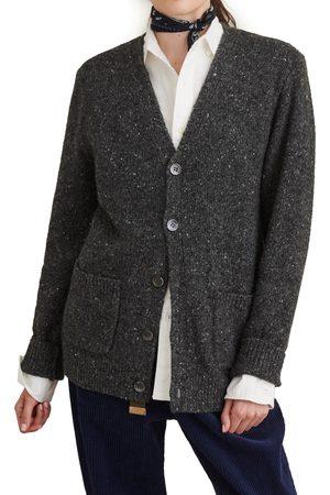 ALEX MILL Women's Donegal Wool Blend Cardigan