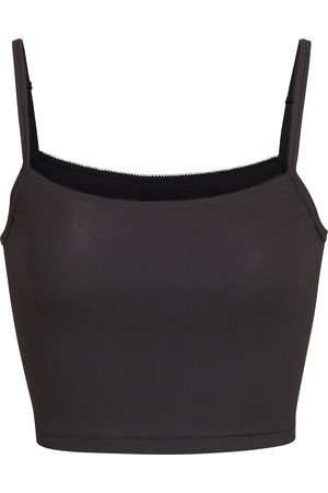SKIMS Women's Logo Ribbed Camisole