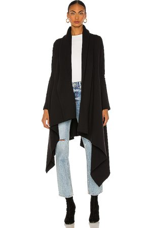 Norma Kamali Uneven Blanket Coat in .