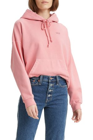 Levi's Women's Garment Dyed Cotton Hoodie