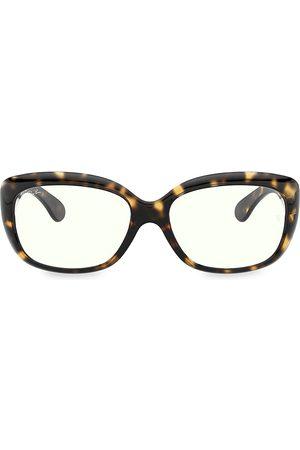 Ray-Ban Women's RB410158 58MM Cat Eye Blue Light Glasses