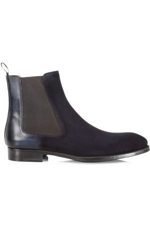 Saks Fifth Avenue Men's COLLECTION Suede Chelsea Boots - - Size 12