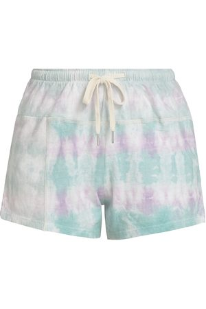 JOHN ELLIOTT Women's Tie-Dye Shorts - - Size XL