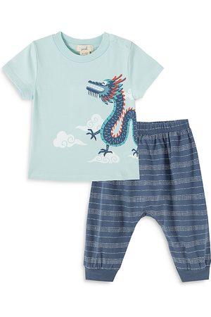 Peek Kids Boys' Andre Dragon Pants Set - Baby