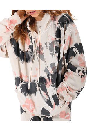 Pam & Gela Women Sweatshirts - Tie Dye Hooded Sweatshirt