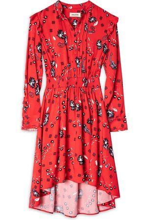 Zadig & Voltaire Girls Printed Dresses - Girls' Karolina Printed Dress - Little Kid, Big Kid