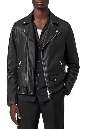 AllSaints Men Milo Biker Jacket