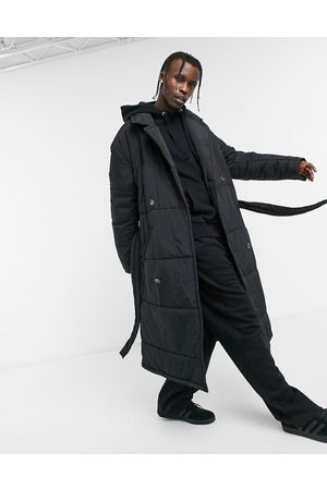 ASOS Puffer trench coat in