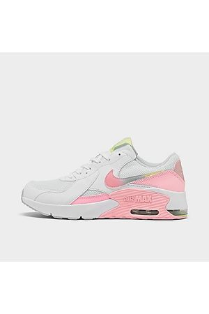 Nike Girls' Big Kids' Air Max Excee Casual Shoes in Size 4.0 Leather