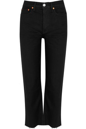 RE/DONE Women High Waisted - 70s Stove Pipe straight-leg jeans
