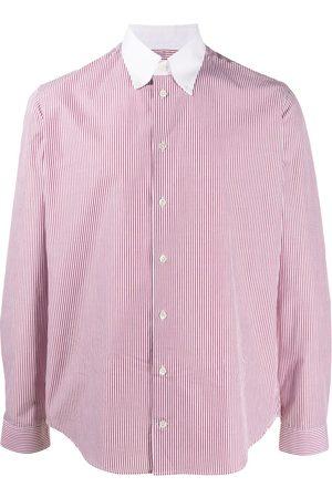 MACKINTOSH Bloomsbury stripe Oxford shirt