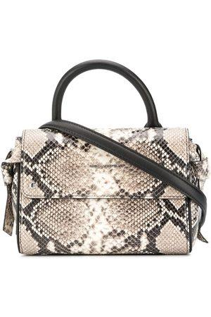 Karl Lagerfeld Women Tote Bags - Snakeskin-effect tote - Neutrals