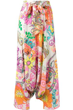Camilla Let the Sun Shine wide-leg trousers - Multicolour