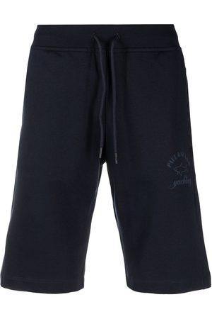 Paul & Shark Logo-print drawstring shorts