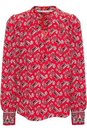 VERONICA BEARD Women Blouses - Woman Abbie Paisley-print Silk-crepe Blouse Size 0