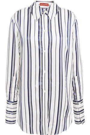 Altuzarra Woman Striped Oxford Shirt Size 34
