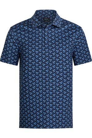 Bugatchi Men's Ooohcotton Floral Short Sleeve Polo