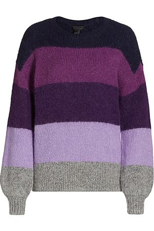Saks Fifth Avenue Women's Brushed Striped Pullover - - Size Large