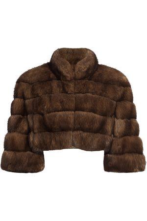 The Fur Salon Women's Sable Fur Bolero - - Size Small