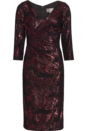 THEIA Women's Stretch Jacquard Cocktail Dress - - Size 8