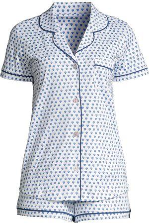Roller Rabbit Women's Hathi Polo 2-Piece Short Pajama Set - - Size Large