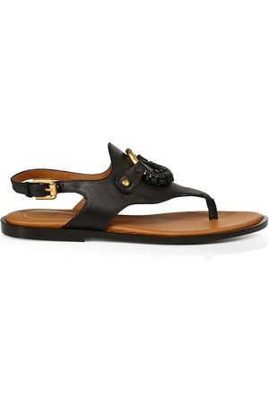 See by Chloé Women's Hana Leather Slingback Thong Sandals - - Size 39 (9)