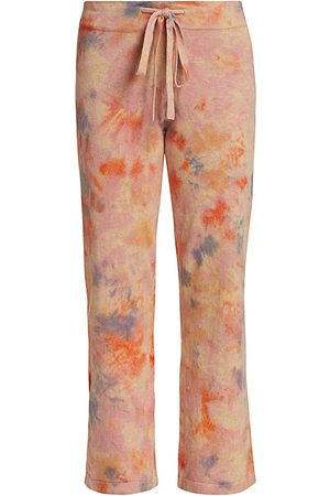 27 miles malibu Women's Haruki Tie-Dye Drawstring Knit Cropped Pants - - Size Small