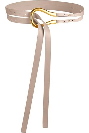 Bottega Veneta Women's French Leather Belt - - Size 100 (L)