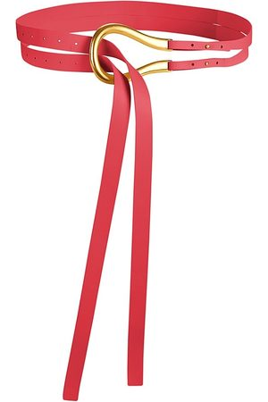 Bottega Veneta Women's French Leather Belt - - Size 80 (S)