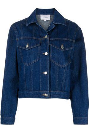 Nanushka Women Denim Jackets - Maren denim jacket