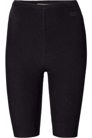 VALENTINO Stretch-knit biker shorts