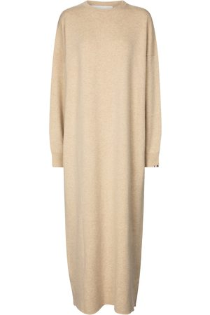 EXTREME CASHMERE Women Midi Dresses - N° 106 Weird stretch-cashmere dress