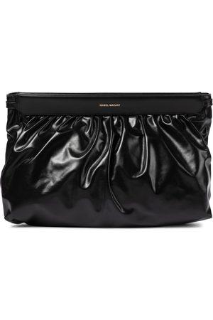 Isabel Marant Women Clutches - Luz leather clutch