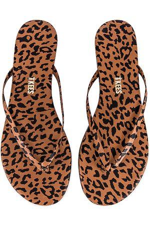 Tkees Studio Exotic Sandal in Brown.