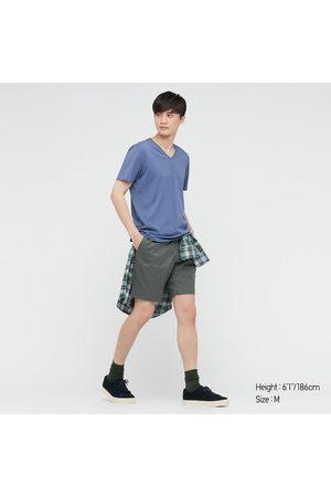 UNIQLO Men Short Sleeve - Men's Supima- Cotton V-Neck Short-Sleeve T-Shirt, , XXS