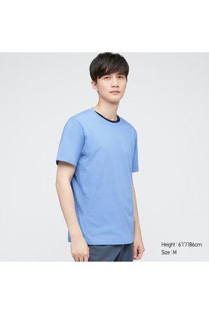 UNIQLO Supima- Cotton Crew Neck Short-Sleeve T-Shirt, , XXS