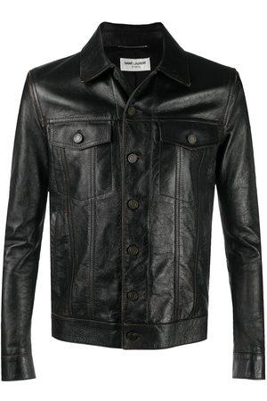 Saint Laurent Single-breasted shirt jacket