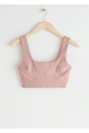 & OTHER STORIES Quick-Dry Yoga Bra