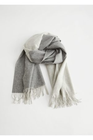 & OTHER STORIES Duo Tone Wool Blanket Scarf