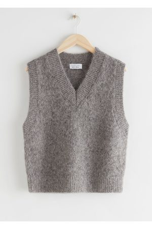 & OTHER STORIES Oversized Wool Knit Vest