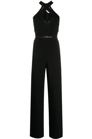 Stella McCartney Women Jumpsuits - Criss-cross front jumpsuit