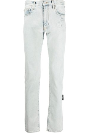 OFF-WHITE Hands-Off straight-leg jeans
