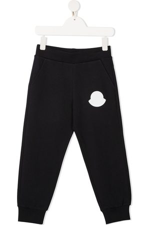 Moncler Boys Sweatpants - Logo patch track pants
