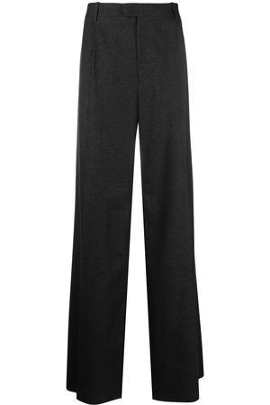 Bottega Veneta Men Wide Leg Pants - Wide-leg trousers - Grey